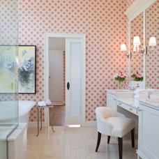 Beach Style Bathroom by Terrat Elms Interior Design
