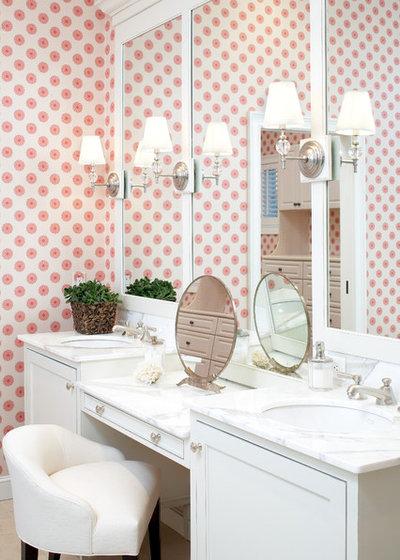 Coastal Bathroom by Elms Interior Design