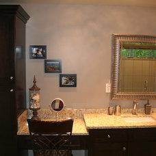 Modern Bathroom Marc's Master Bathroom Renovation