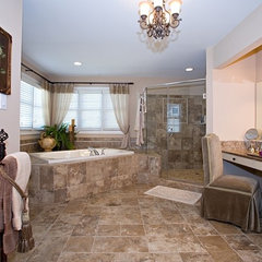 traditional bathroom by Marcia Goldman