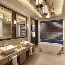 Contemporary Bathroom by K2 Design Group, Inc.