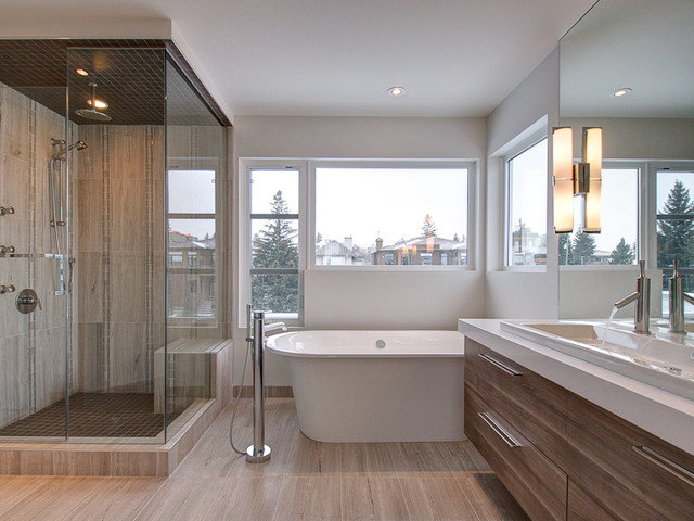 Contemporary Bathroom by Endeavour Developments