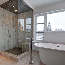 Contemporary Bathroom by Endeavour Developments