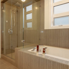 Contemporary Bathroom by Maillot Homes