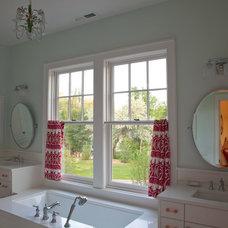 Traditional Bathroom by EAS Residential Design, LLC
