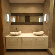 Modern Bathroom by Maria Ypsilanti  I.D. Interior design