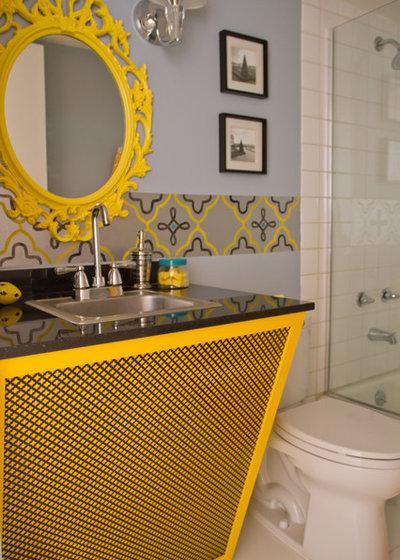 Contemporary Bathroom by Erika Bierman Photography