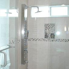 Traditional Bathroom by Hope Morris Designs