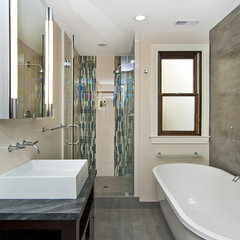 contemporary bathroom by Studio S Squared Architecture, Inc.