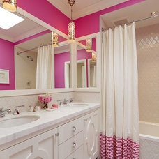 Transitional Bathroom by Artistic Designs for Living, Tineke Triggs