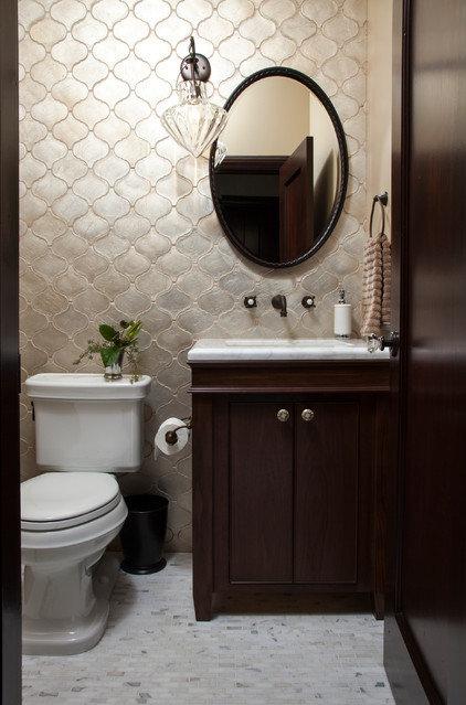 Mediterranean Bathroom by Plath & Company