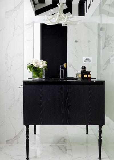 Modern Bathroom by James Dawson Interior Design