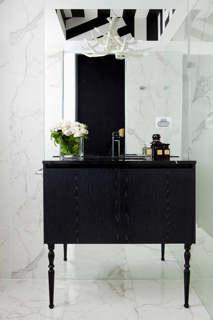 Modern Bathroom by James Dawson Interiors