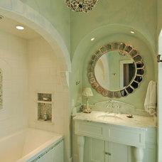 Traditional Bathroom by COASTAL CABINETS