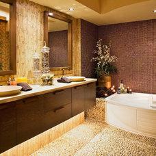 Modern Bathroom by A. Keith Powell Interior