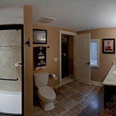 Traditional Bathroom by Sebring Services