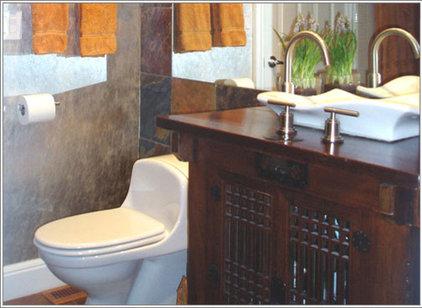 Asian Bathroom by MARK MORRIS DESIGN GROUP