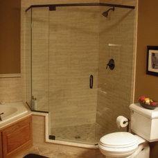 Traditional Bathroom by 2 Tru Carpenters LLC