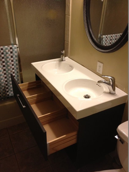 Ikea Bathroom Sink : New double sink from IKEA: Vitviken sink top, Godmorgon cabinet in ...