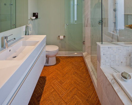 Bathroom cork flooring ideas ideas pictures remodel and for Bathroom designs cork