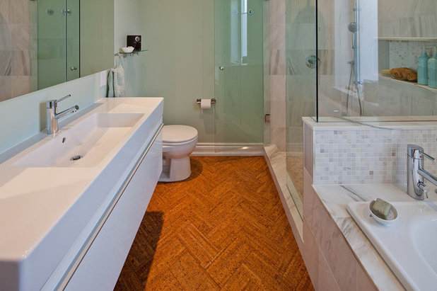 Bathroom Makeovers Cork will cork float for your bathroom floor?