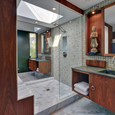 Asian Bathroom by Tracie Butler Interior Design