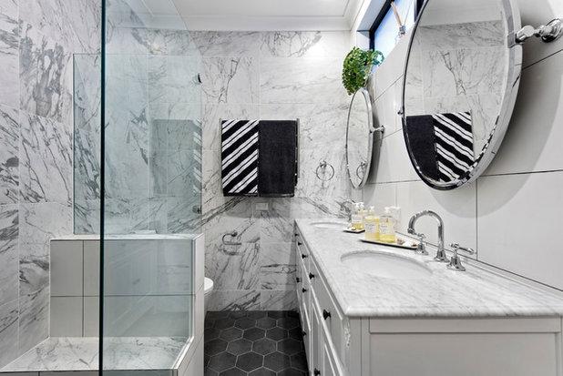 Transitional Bathroom by Xanvic