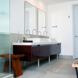 Inspirational Contemporary Bathroom by MV Group USA