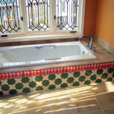 Mediterranean Bathroom by Jennifer Pfaff