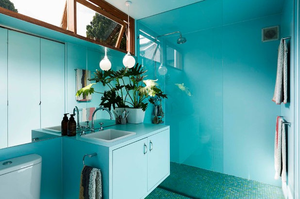 Eclectic Bathroom by David Boyle Architect