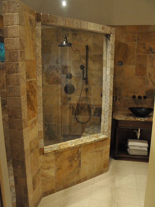 Tuscan style bathrooms home design ideas pictures remodel and decor for Bathroom remodel greenwood in