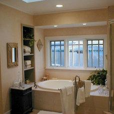 Traditional Bathroom by Mark Hutchins