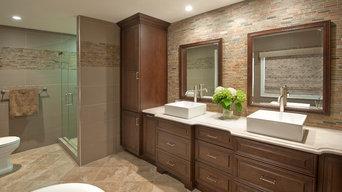 Marston-Finn Master Bathroom, Windham, NH