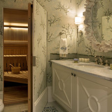 Contemporary Bathroom by Robin Pelissier Interior Design & Robin's Nest