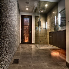 Midcentury Bathroom by Tuggey Construction