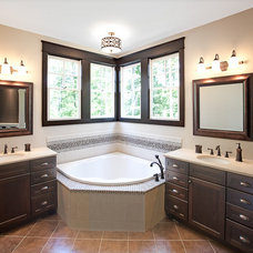 Traditional Bathroom by Amy Gallo, NCIDQ, ASID
