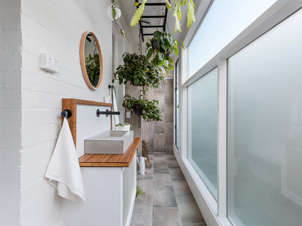 Fusion Bathroom by Dylan James
