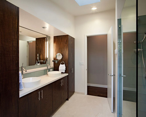 dark bathroom cabinets houzz