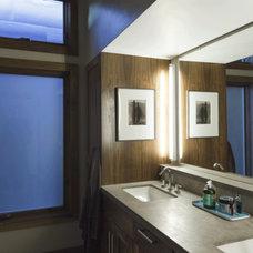 Rustic Bathroom by sagemodern