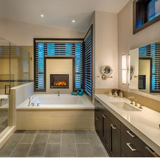 Contemporary Bathroom by Sonder Nicholas Architect