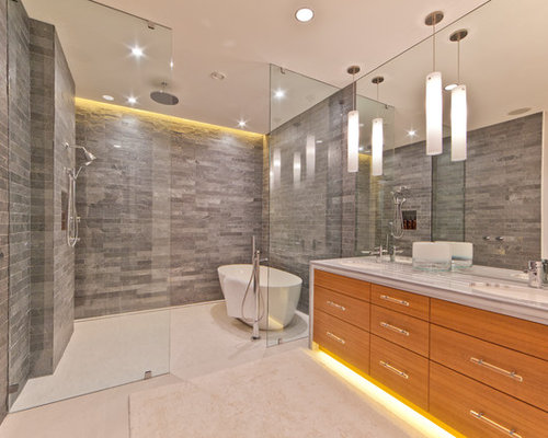 Glass Enclosed Shower freestanding tub glass enclosed shower | houzz