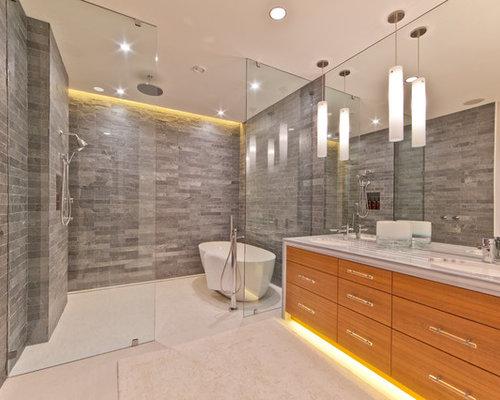 Glass Enclosed Shower freestanding tub glass enclosed shower | houzz