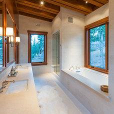 Contemporary Bathroom by Sarah Jones Design