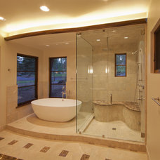 Contemporary Bathroom by Kelly & Stone Architects