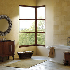 Contemporary Bathroom by Marvin Windows and Doors