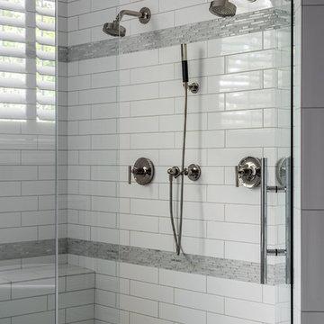 Marvin, NC- Zero entry shower -Master Bathroom