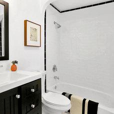 Eclectic Bathroom by Kenihan Development