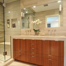 Contemporary Bathroom by Betsy Bassett interiors