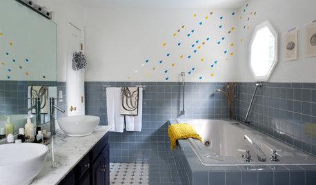 10 idées de décoration murale pour pimenter votre salle de bains