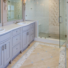Traditional Bathroom by April Case Underwood